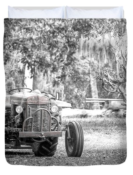 Massey Ferguson Tractor Duvet Cover