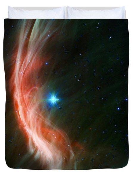 Massive Star Makes Waves Duvet Cover