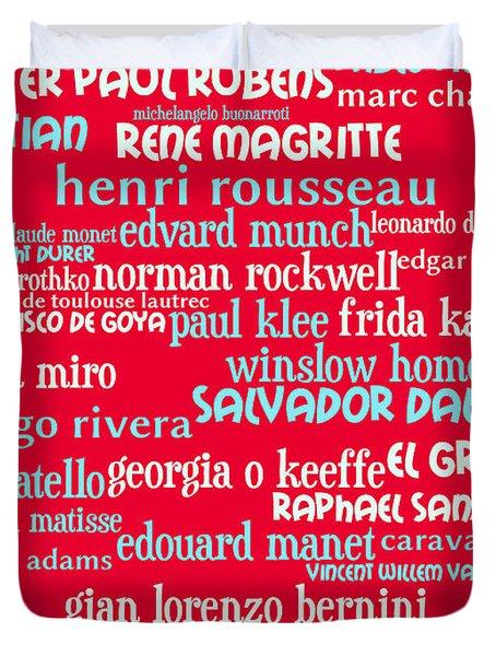 Masters Of Art 20130625p120 Duvet Cover