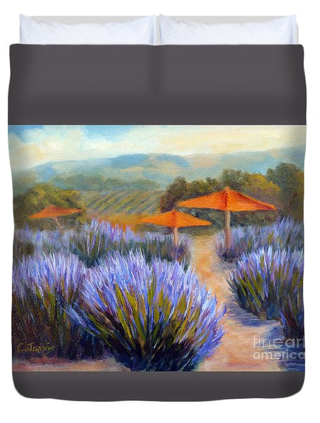 Matanzas Late June Duvet Cover