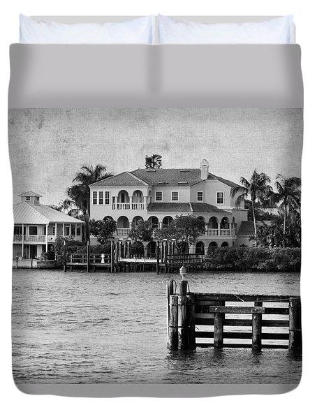 Matanzas Pass - Fort Myers Beach - Florida Duvet Cover