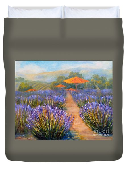 Matanzas Winery Duvet Cover