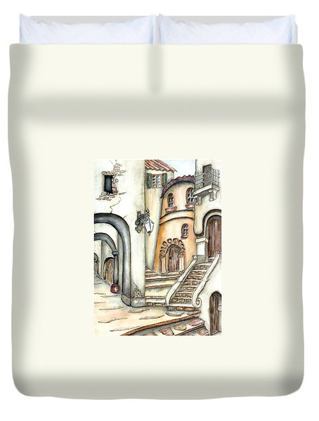 Matera Duvet Cover by Pamela Allegretto