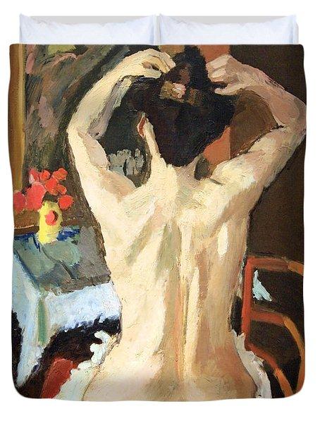 Matisse's La Coiffure Duvet Cover