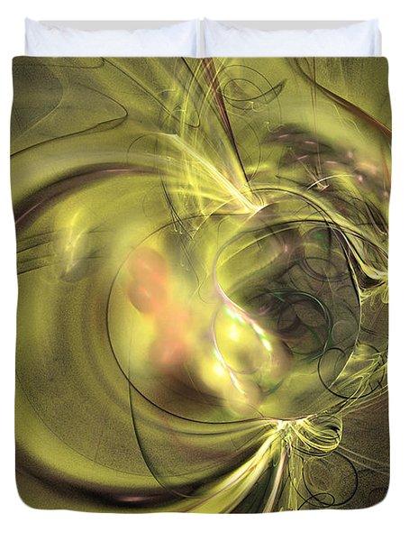 Maturation - Abstract Art Duvet Cover