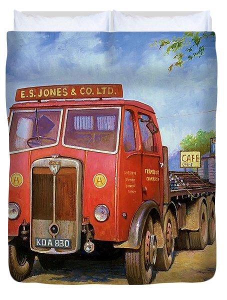 Maudslay Meritor Duvet Cover by Mike  Jeffries