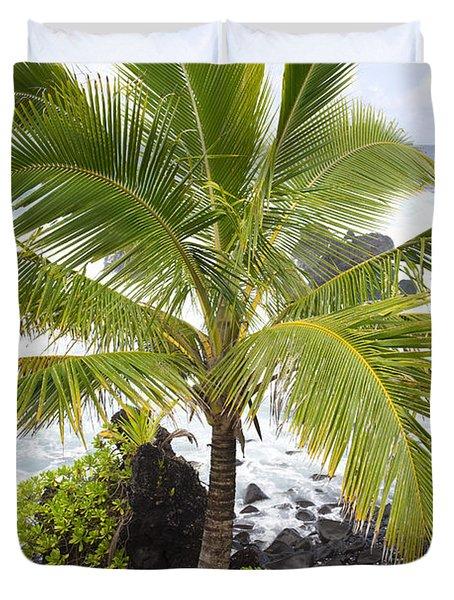 Maui Coast Duvet Cover by Jenna Szerlag