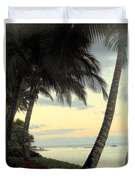 Maui Morning Duvet Cover by Fred Wilson