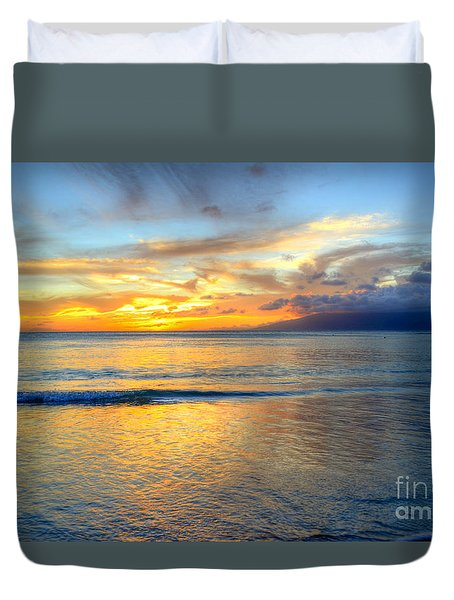 Maui Reflections Duvet Cover