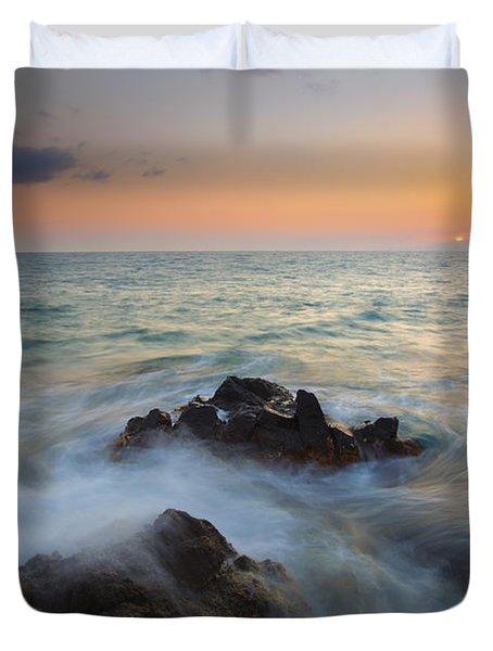 Maui Tidal Swirl Duvet Cover