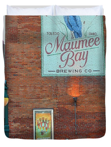 Maumee Bay Brewing Company 2135 Duvet Cover