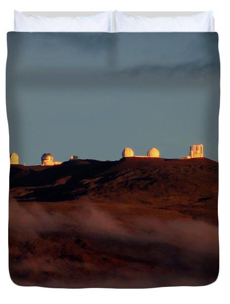 Mauna Kea Duvet Cover by Pamela Walton