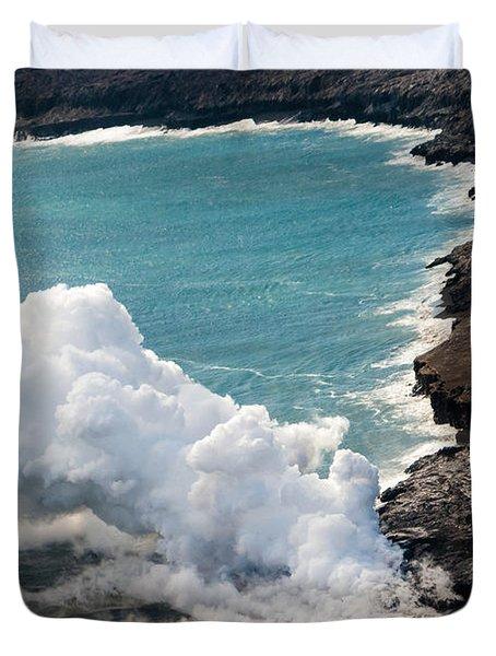 Mauna Loa Duvet Cover