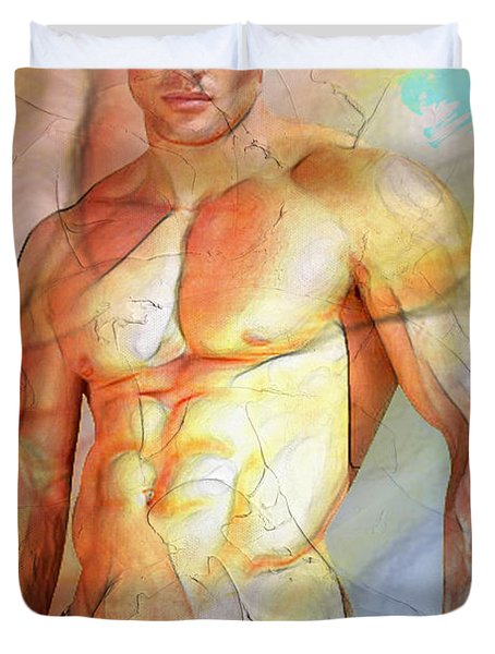 Maximum Color Duvet Cover by Mark Ashkenazi
