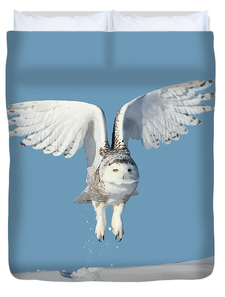 Maximum Lift Duvet Cover by Heather King