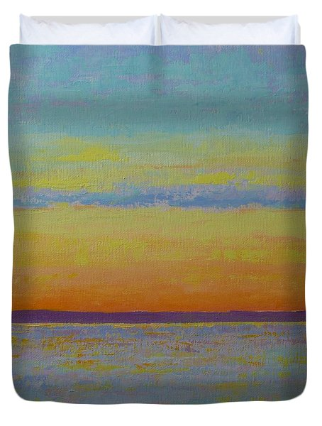 May Sunset Duvet Cover