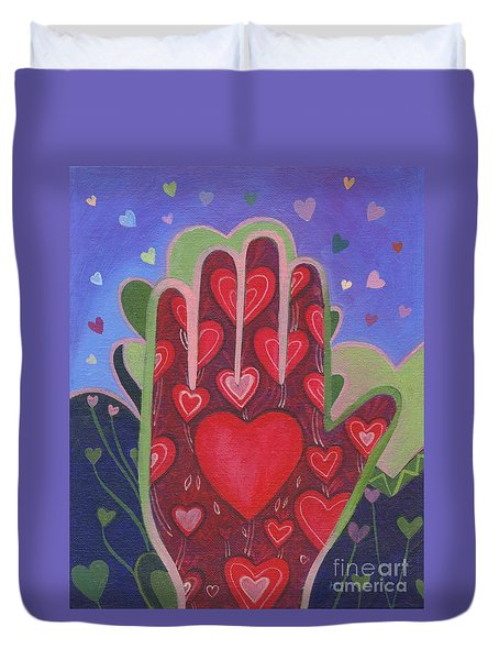 May We Choose Love Duvet Cover