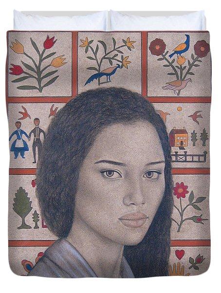 Maya Duvet Cover by Lynet McDonald