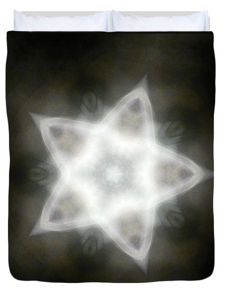 Mayan Star Duvet Cover by Lisa Lipsett