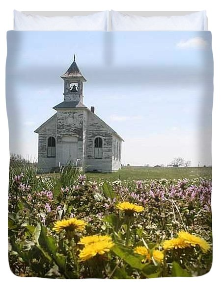 Mayflower Church Duvet Cover