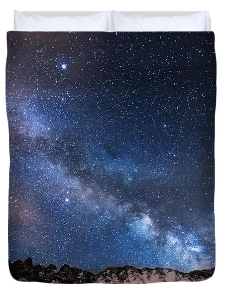 Mayflower Gulch Milky Way Duvet Cover