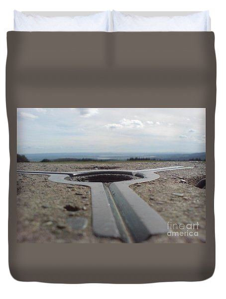 Duvet Cover featuring the photograph Maytrig by John Williams