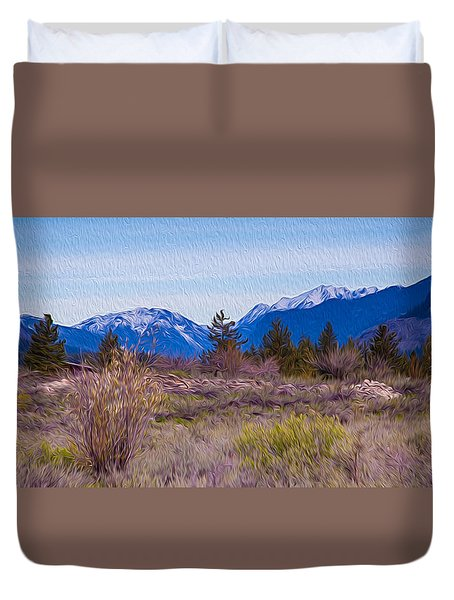 Mazama From Wolf Creek Duvet Cover by Omaste Witkowski