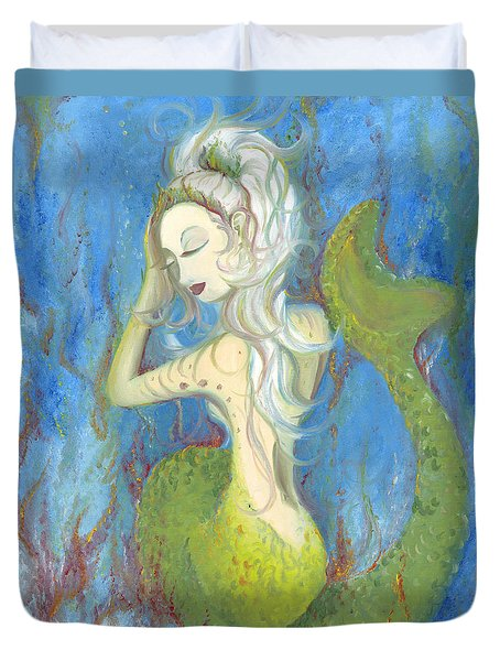 Mazzy The Mermaid Princess Duvet Cover