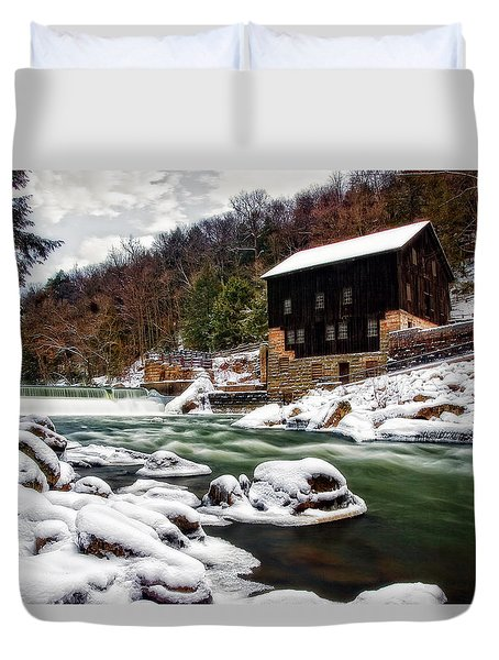 Mcconnell's Mill Duvet Cover by Marcia Colelli