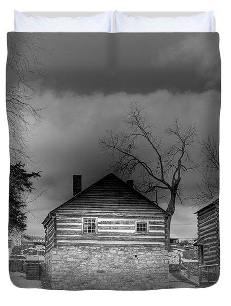 Mccormick Farm 2 Duvet Cover by Todd Hostetter