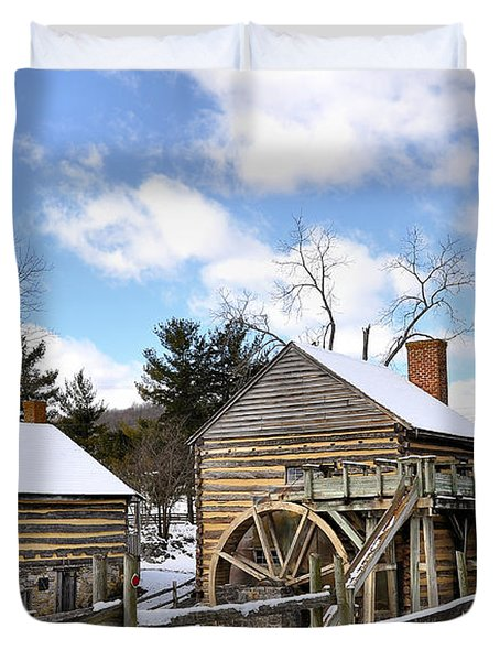 Mccormick Farm 3 Duvet Cover by Todd Hostetter