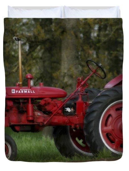 Mccormick Farmall Duvet Cover