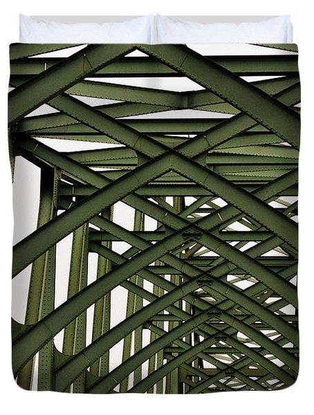 Mccullough Memorial Bridge Duvet Cover