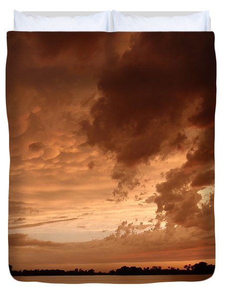 Mciver Lake Duvet Cover by James Peterson
