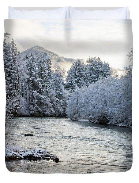 Mckenzie River Duvet Cover by Belinda Greb