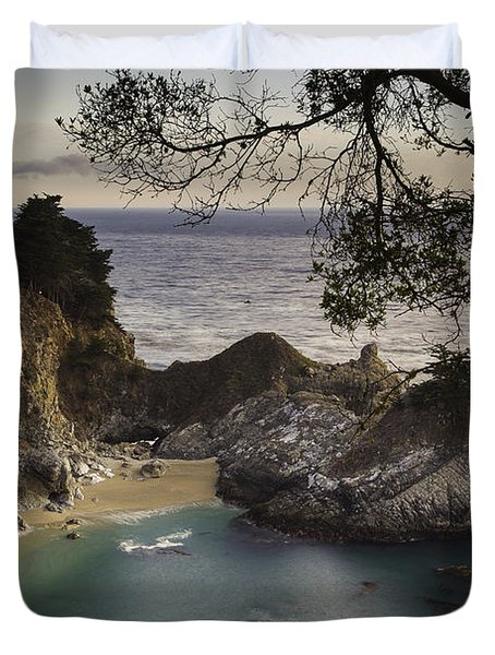 Mcway Falls Duvet Cover by Michele Steffey