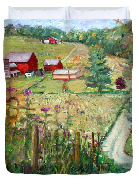 Meadow Farm Duvet Cover