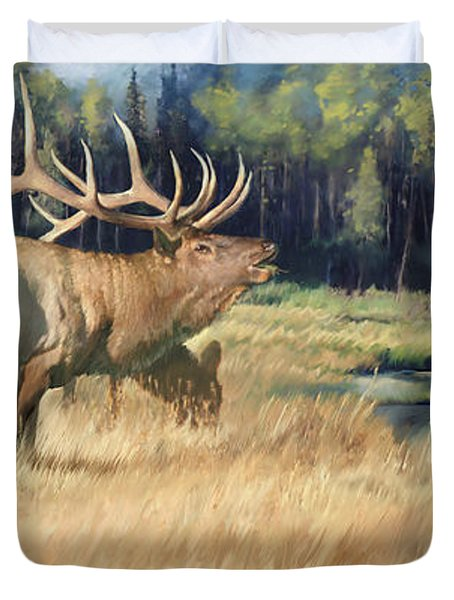 Meadow Music Duvet Cover by Rob Corsetti