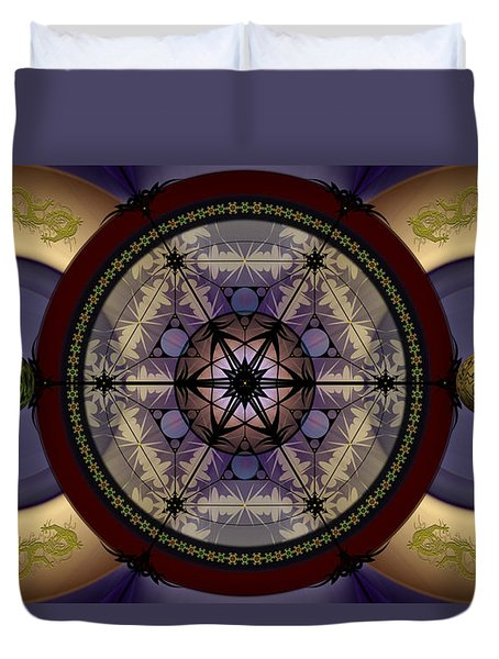 Mechanical Wonder Duvet Cover