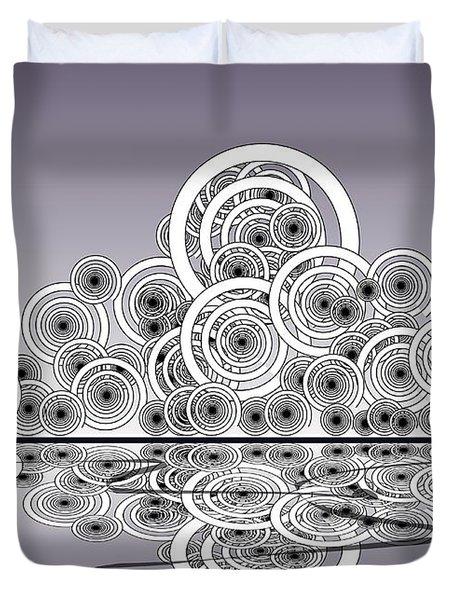 Mechanical Spirits Duvet Cover by Anastasiya Malakhova