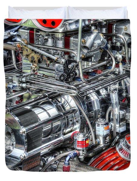 Mechanics Duvet Cover by Bill Wakeley