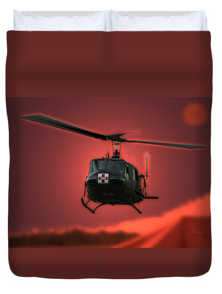 Medevac The Sound Of Hope Duvet Cover by Thomas Woolworth
