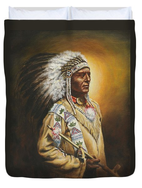 Medicine Chief Duvet Cover