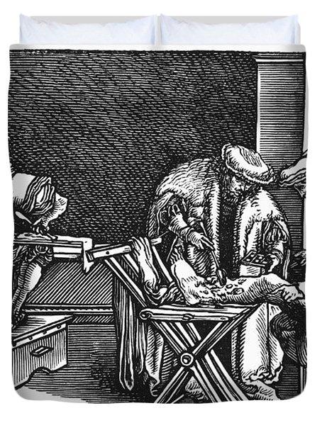 Medicine: Surgery, 1537 Duvet Cover