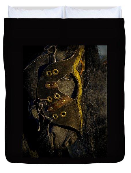 Medieval Stallion Duvet Cover