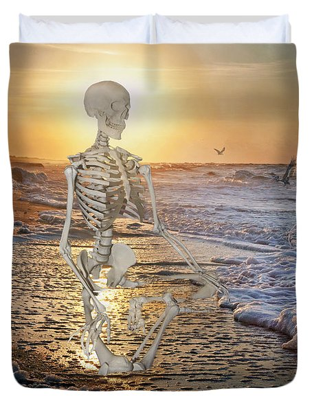 Meditative Morning Duvet Cover