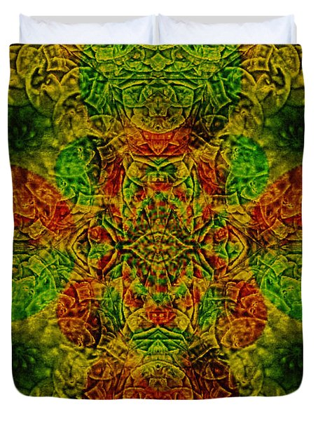 Meditate Duvet Cover