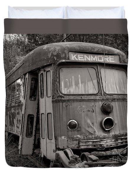 Meet Me In Kenmore Square Duvet Cover