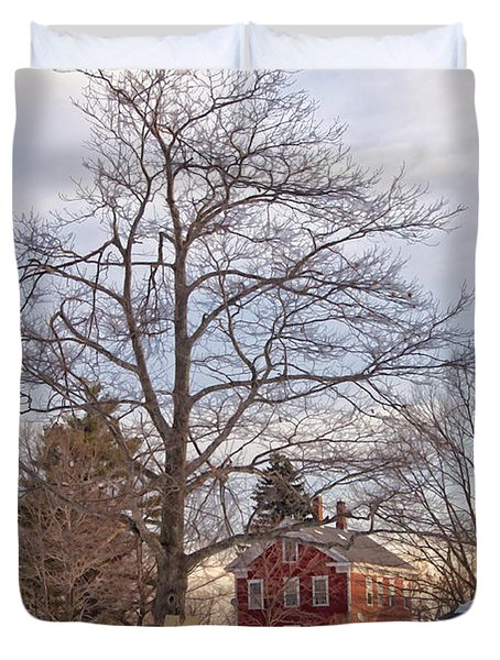 Meetinghouse Hill Duvet Cover