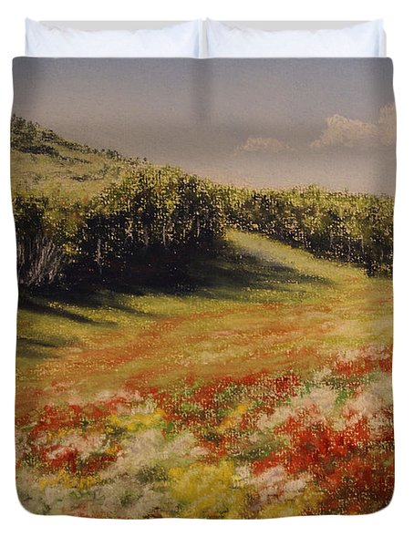 Melkow Trail  Duvet Cover by Stanza Widen